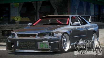 Nissan Skyline R33 PSI Drift для GTA 4