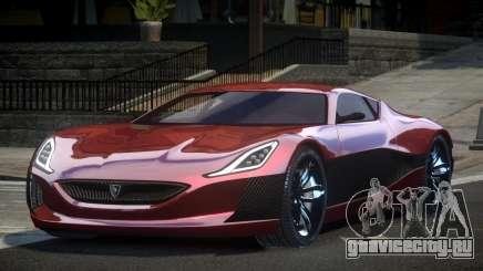 Rimac C_Two GT для GTA 4