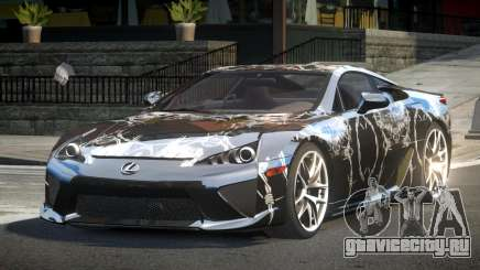 Lexus LF-A SP R-Tuning L4 для GTA 4