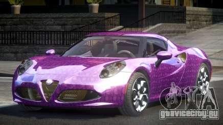 Alfa Romeo 4C SR PJ2 для GTA 4