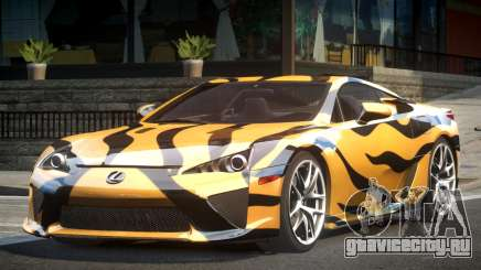 Lexus LF-A SP R-Tuning L6 для GTA 4