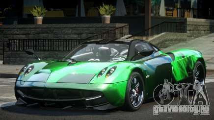 Pagani Huayra BS Racing L3 для GTA 4