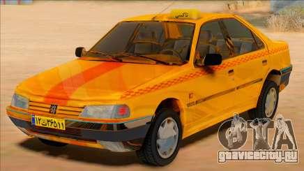 Peugeot 405 Road taxi для GTA San Andreas