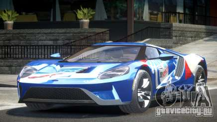 Ford GT BS Racing L7 для GTA 4