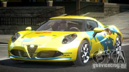 Alfa Romeo 4C SR PJ3 для GTA 4