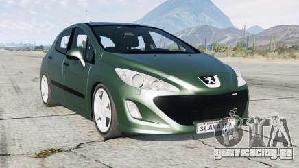 Peugeot 308 HDi 5-door (T7) 2010 для GTA 5