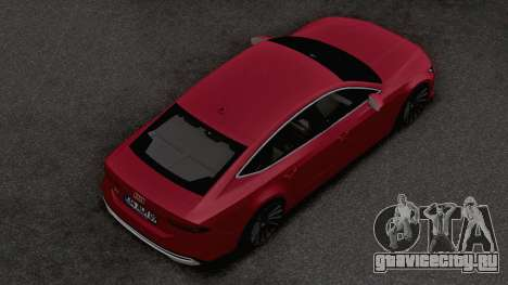 Audi A7 2020 TR Plates для GTA San Andreas