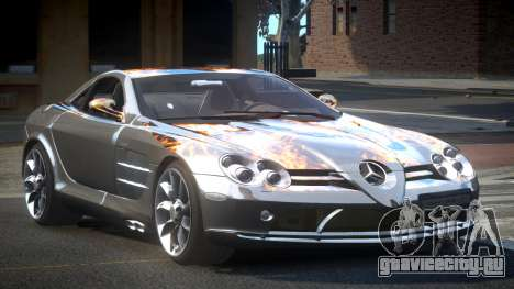 Mercedes-Benz SLR R-Tuning L8 для GTA 4