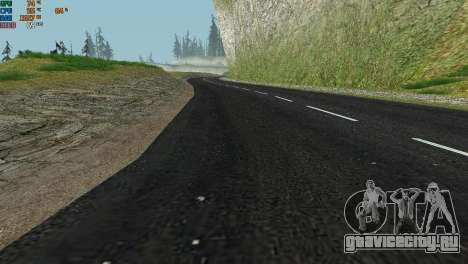 New Roads for San Fierro для GTA San Andreas