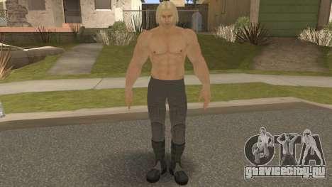 Paul Shortcut Hair with Vendetta Pants V9 для GTA San Andreas