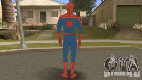 Spider-Man Classic Suit PS4 Retexture для GTA San Andreas