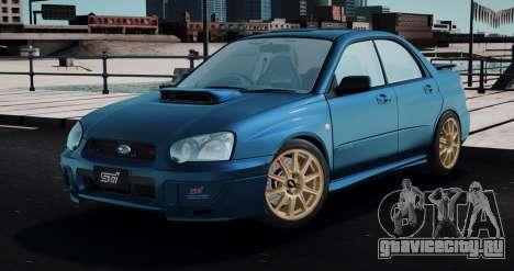Subaru Impreza WRX STi Spec-C 2003 для GTA San Andreas
