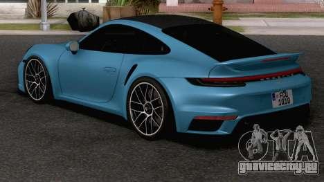 2021 Porsche 911 Turbo S для GTA San Andreas