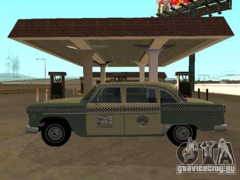 Checker Marathon 1977 Taxi New York для GTA San Andreas
