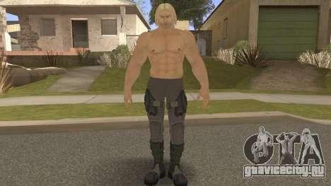 Paul Shortcut Hair with Vendetta Pants V10 для GTA San Andreas