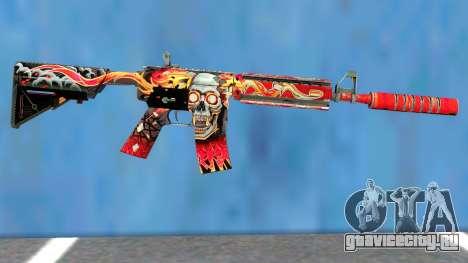 M4A4 Kill Confirmed для GTA San Andreas