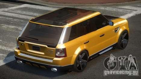 Range Rover Sport V8 TR для GTA 4