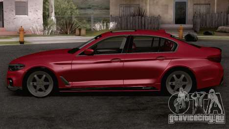 BMW 540i MPerformance для GTA San Andreas