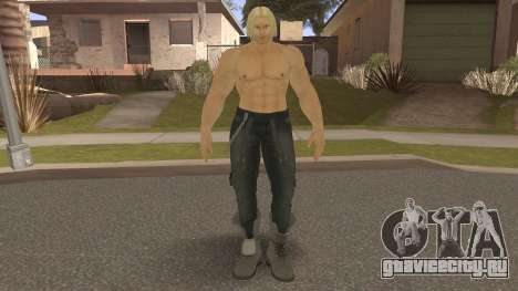 Paul Biker Shortcut Hair V5 для GTA San Andreas