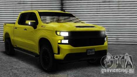 2020 Chevrolet Silverado Trailboss Z71 ImVehFT для GTA San Andreas