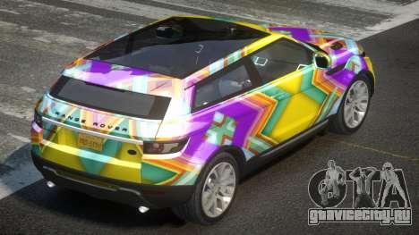Range Rover Evoque PSI L7 для GTA 4