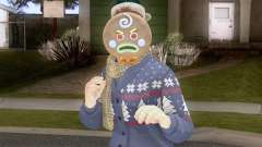 GTA Online Pack de Skins Christmas Parte 2 V3 для GTA San Andreas
