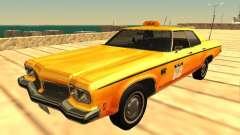 Oldsmobile Delta 88 1973 taxi для GTA San Andreas