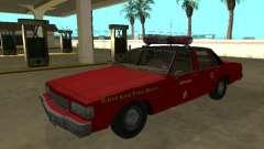 Chevrolet Caprice 1987 Chicago Fire Dept для GTA San Andreas
