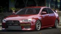 Mitsubishi Lancer X GS для GTA 4