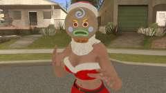 Lisa Hamilton Berry Burberry Christmas V3 для GTA San Andreas
