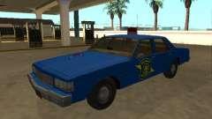 Chevrolet Caprice 1987 Michigan State Police для GTA San Andreas