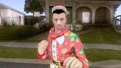 GTA Online Pack de Skins Christmas Parte 2 V4 для GTA San Andreas
