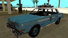 Dodge Diplomat 1987 New York Police Dept для GTA San Andreas
