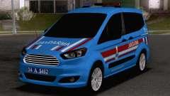 Ford Tourneo Courier Jandarma Asayis&Gendarme для GTA San Andreas