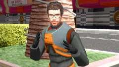 Gordon Freeman Redux from Half-Life 2 для GTA San Andreas