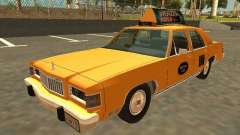 Mercury Grand Marquis 1986 Taxi для GTA San Andreas