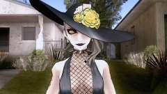 Shadow Sae Niijima from Persona 5 для GTA San Andreas