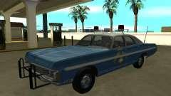 Dodge Polara 1972 Nevada Highway Patrol для GTA San Andreas