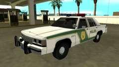 Ford LTD Crown Victoria 1991 Miami Dade M Police для GTA San Andreas