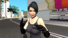 Momiji Black Suit V2 для GTA San Andreas