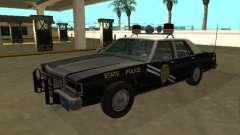 Ford LTD Crown Victoria 1987 New Mexico SP для GTA San Andreas