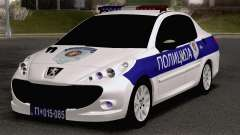 Peugeot 207 Policija
