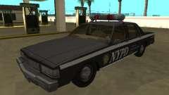Chevrolet Caprice 1987 NYPD Auxiliar для GTA San Andreas