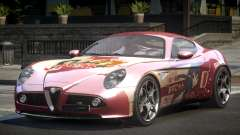 Alfa Romeo 8C BS L7 для GTA 4