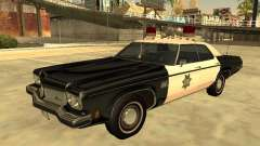 Oldsmobile Delta 88 1973 San Francis Police Dept для GTA San Andreas