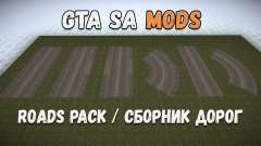 Набор для создания дорог для GTA San Andreas