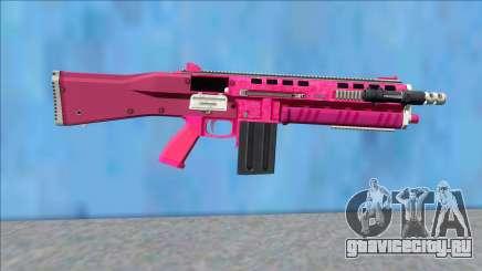 GTA V Vom Feuer Assault Shotgun Pink V12 для GTA San Andreas