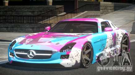 Mercedes-Benz SLS SP-A L3 для GTA 4