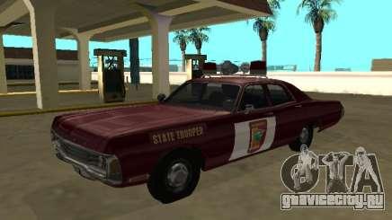Dodge Polara 1972 Minnesota State Trooper для GTA San Andreas
