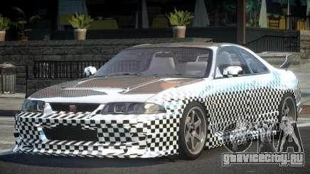 1997 Nissan Skyline R33 L10 для GTA 4